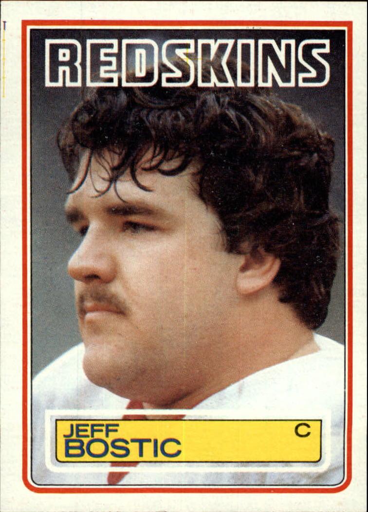 1983 Topps #187 Jeff Bostic DP RC