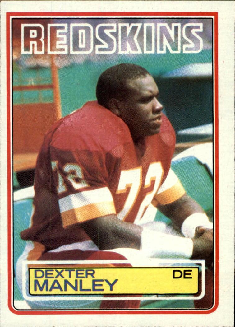 1983 Topps #191 Dexter Manley RC