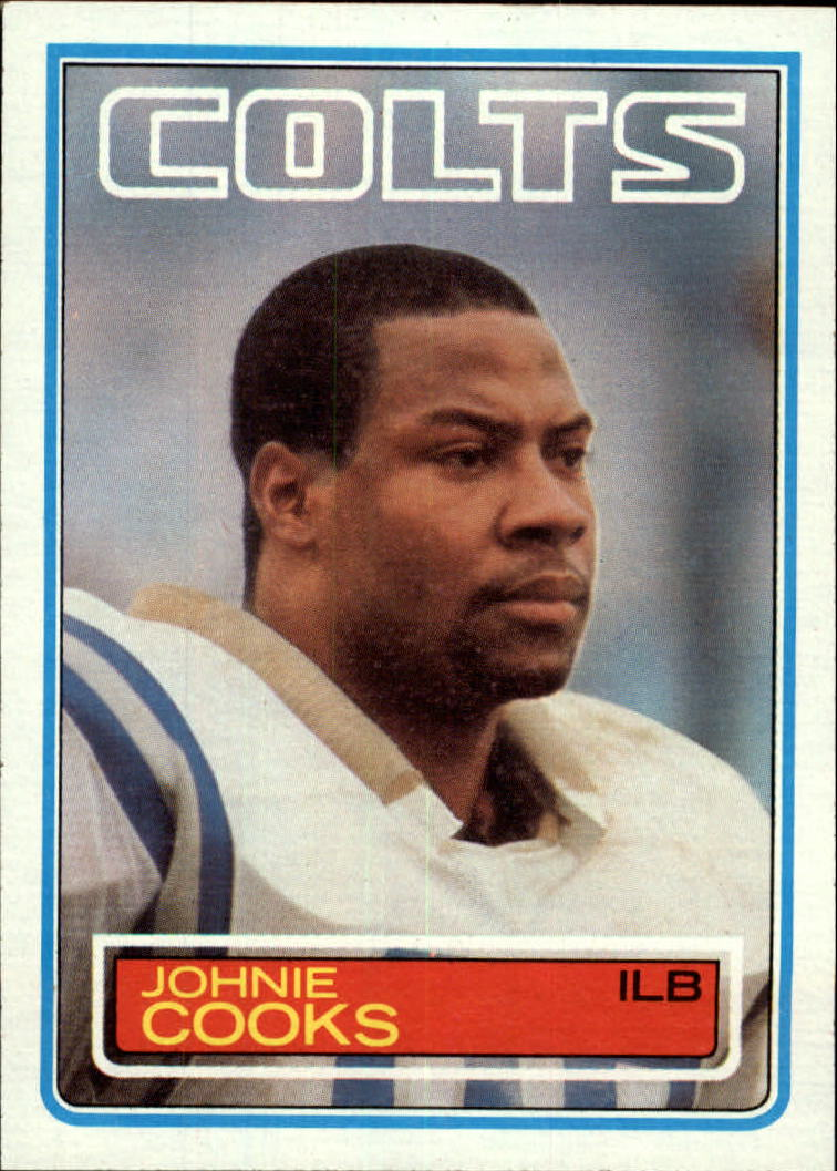 1983 Topps #210 Johnie Cooks DP RC