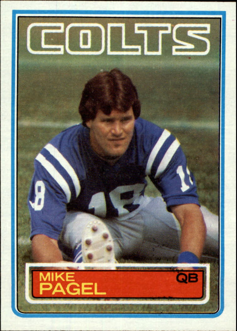1983 Topps #215 Mike Pagel RC