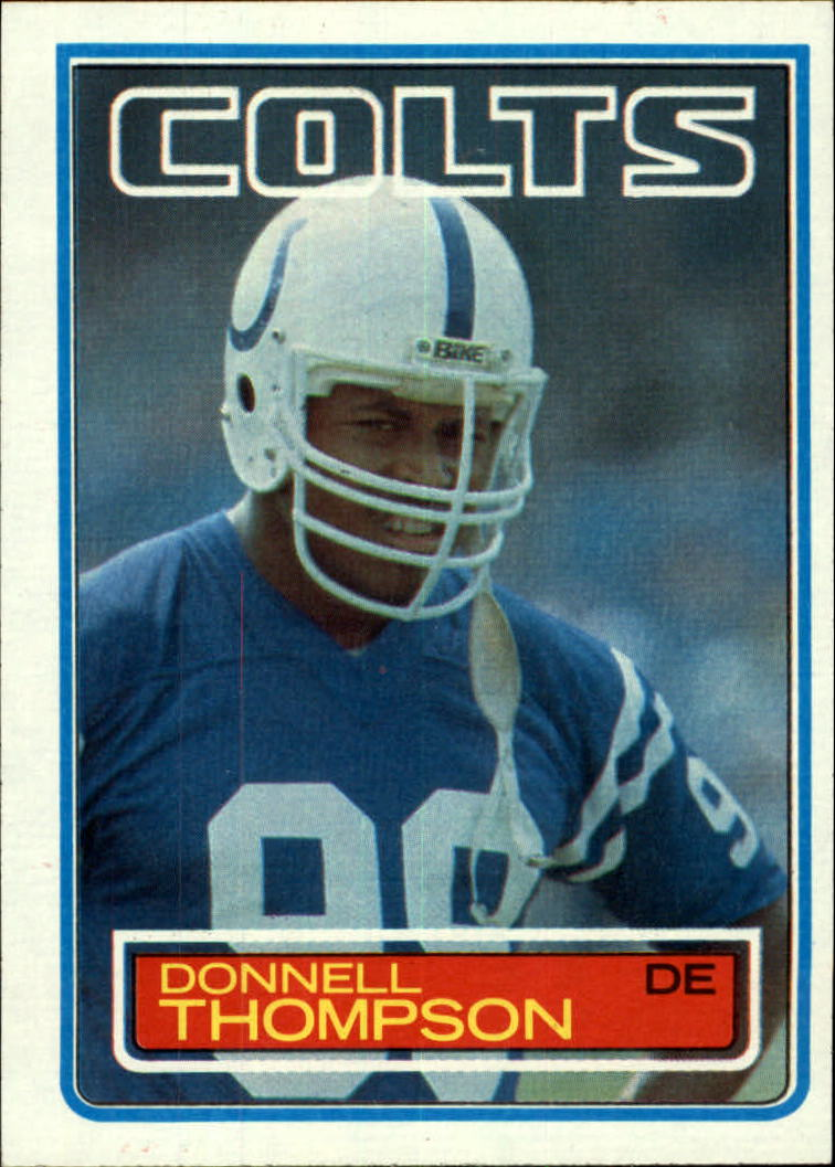 1983 Topps #217 Donnell Thompson DP RC