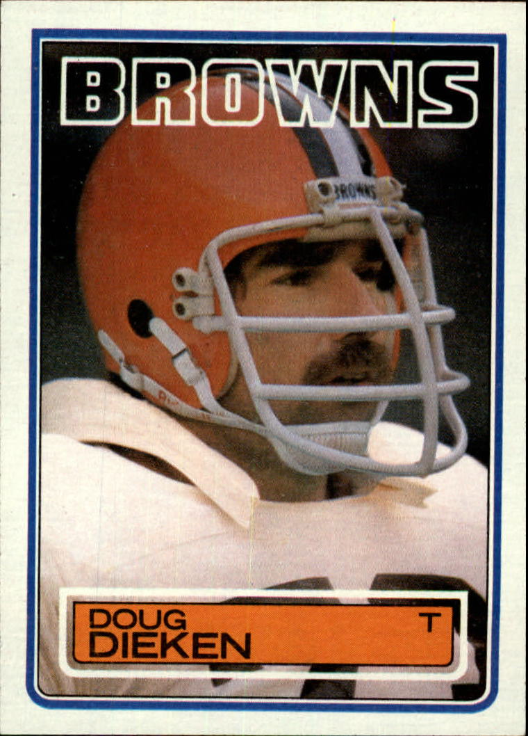 1983 Topps #248 Doug Dieken DP