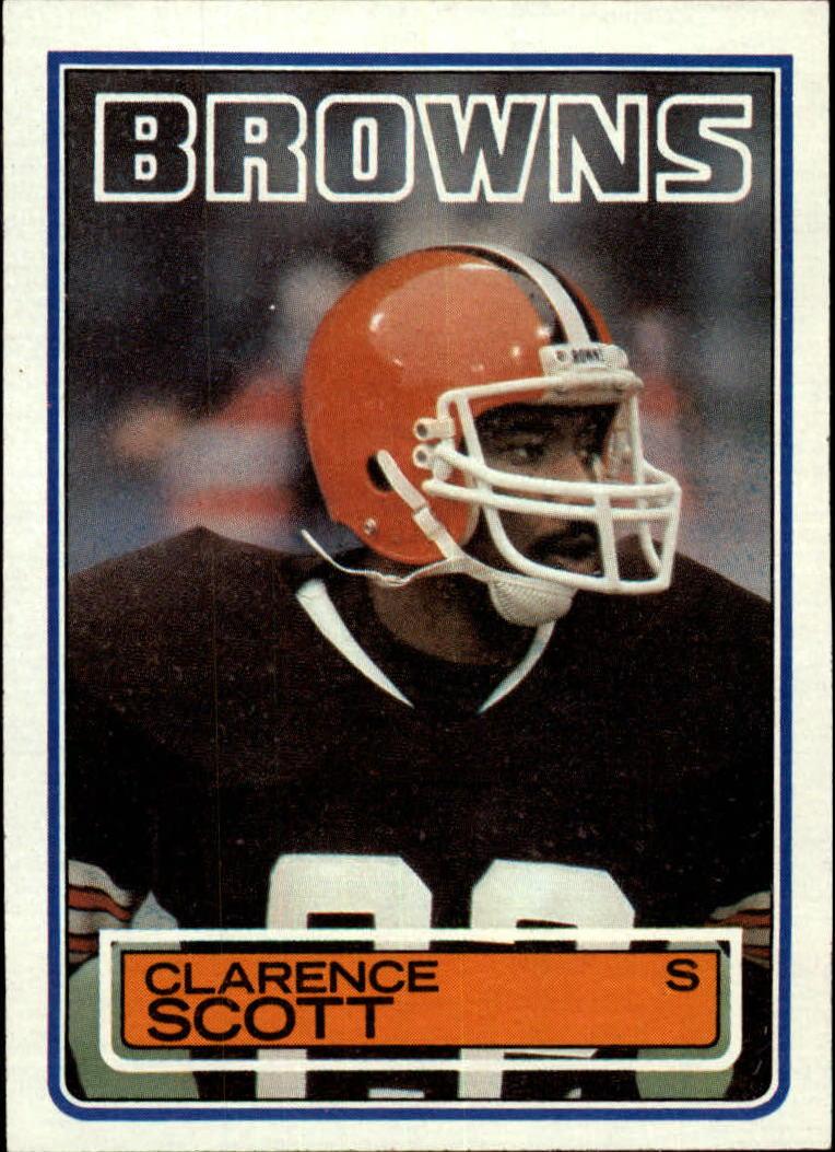 1983 Topps #256 Clarence Scott DP