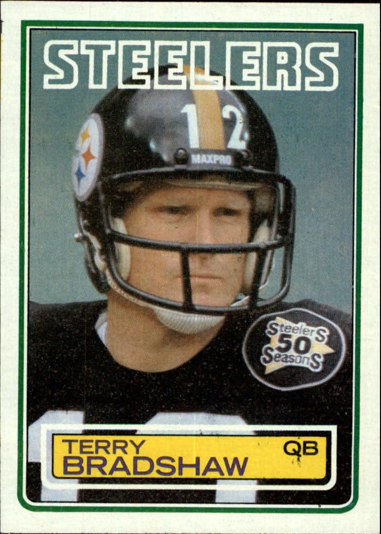 1983 Topps #358 Terry Bradshaw DP