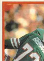 1983 Topps Sticker Inserts #11 Tony Dorsett back image