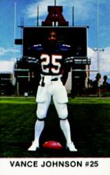 1983 Arizona Police #14 Vance Johnson