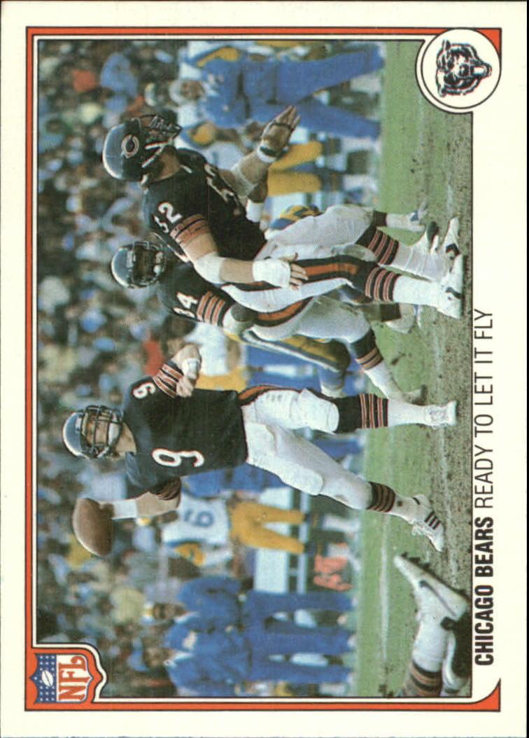 1983 Fleer Team Action #7 Chicago Bears