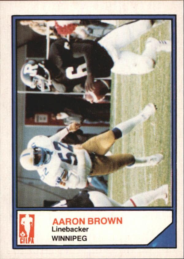 1983 JOGO Limited #73 Aaron Brown