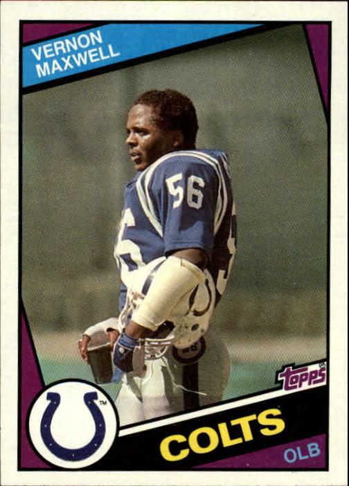 1984 Topps #16 Vernon Maxwell RC
