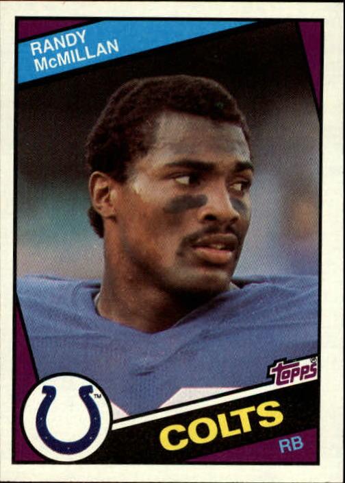 1984 Topps #17 Randy McMillan
