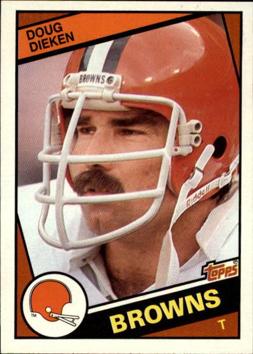 1984 Topps #52 Doug Dieken