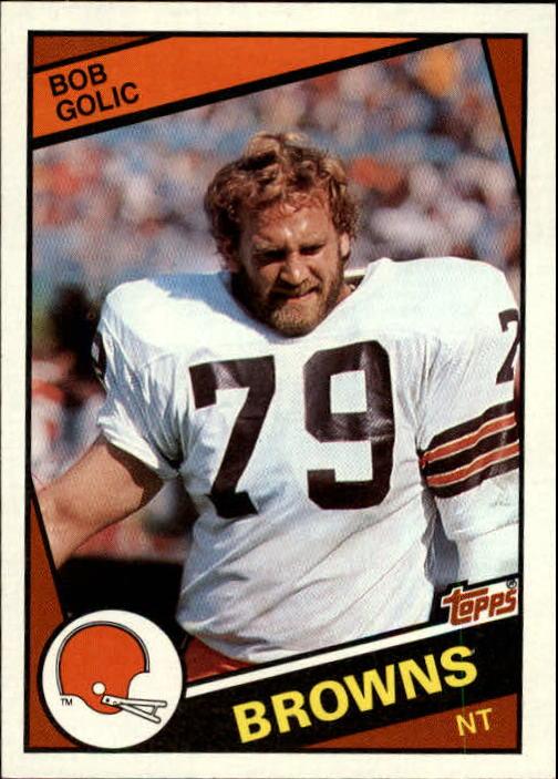 1984 Topps #53 Bob Golic RC