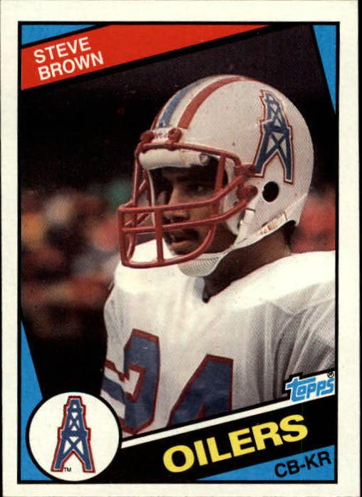 1984 Topps #77 Steve Brown RC