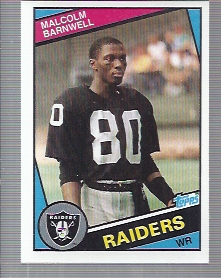 1984 Topps #103 Malcolm Barnwell RC