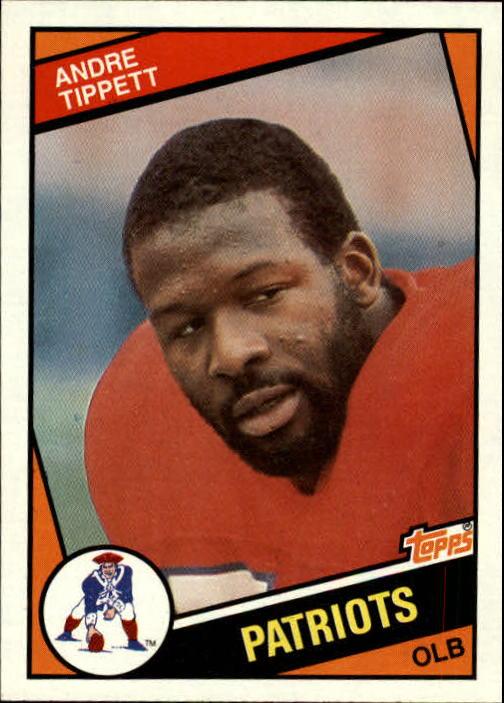 1984 Topps #143 Andre Tippett RC