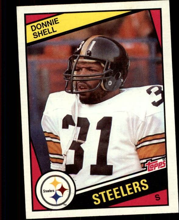 1984 Topps #170 Donnie Shell