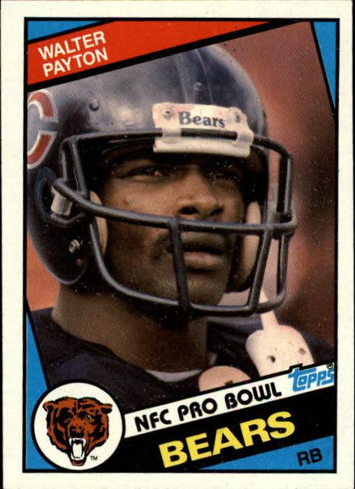 1984 Topps #228 Walter Payton PB