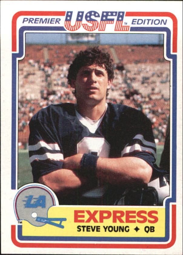 1984 Topps USFL #52 Steve Young XRC