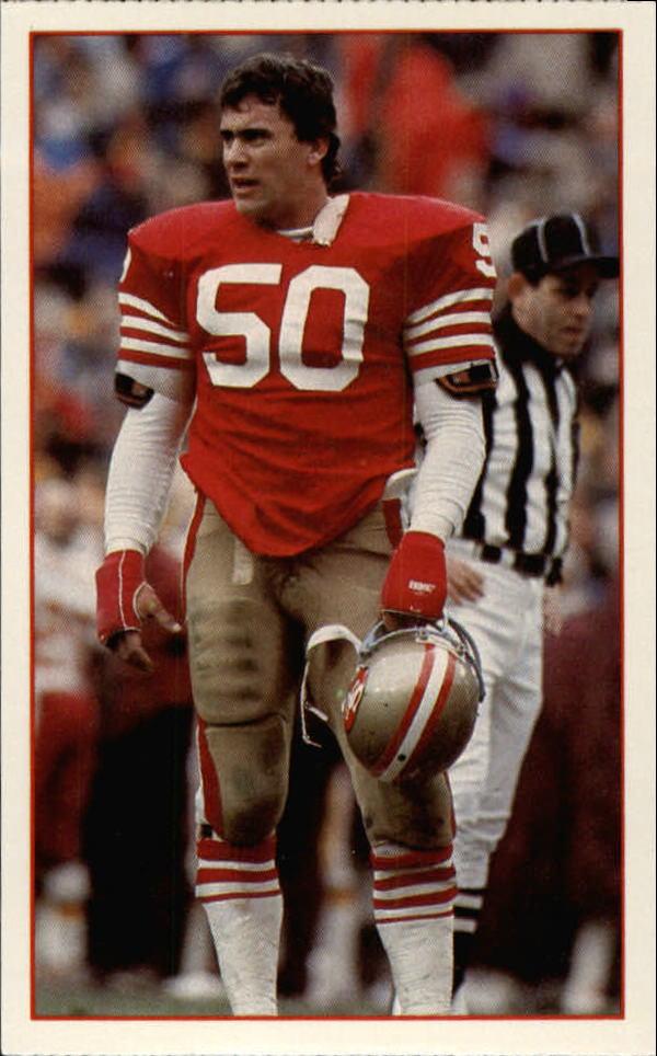 1984 49ers Police #3 Riki Ellison