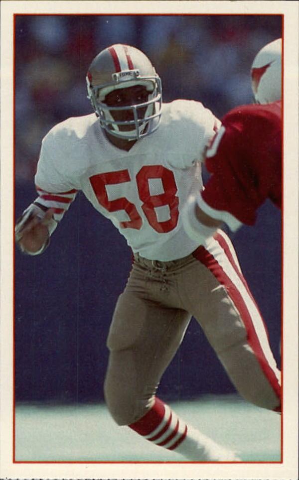 1984 49ers Police #8 Keena Turner