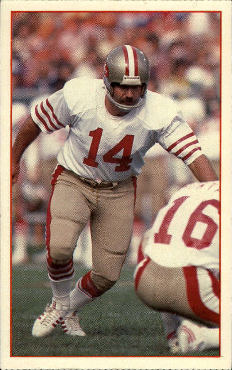 1984 49ers Police #11 Ray Wersching