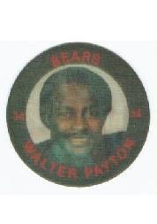 1984 7-Eleven Discs #E6 Walter Payton