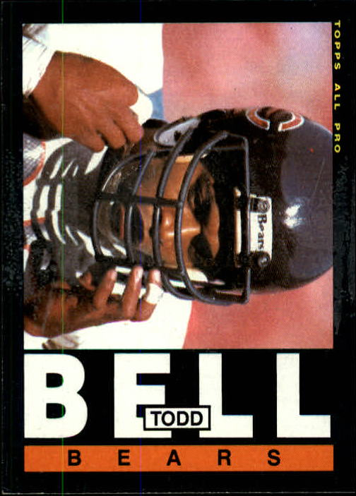 1985 Topps #23 Todd Bell RC