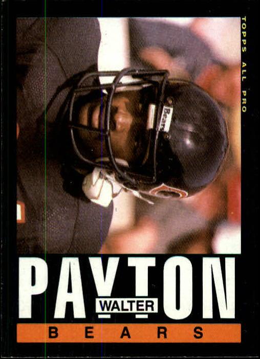 1985 Topps #33 Walter Payton AP