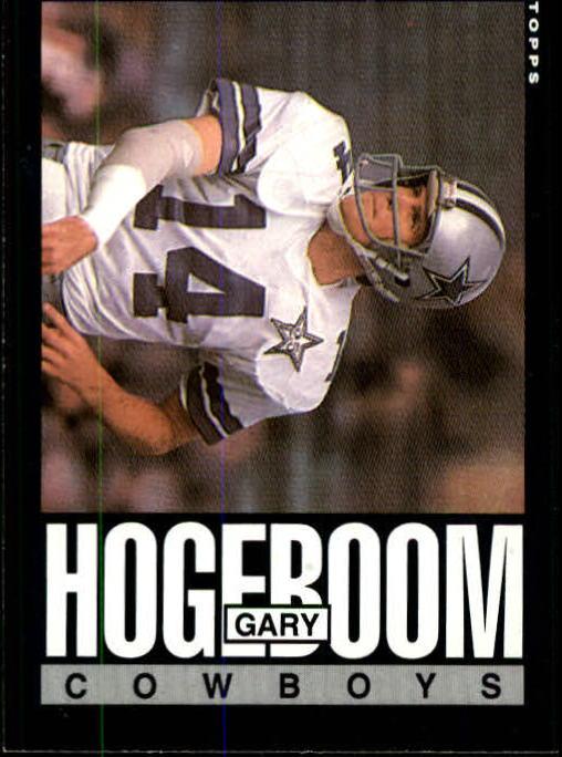 1985 Topps #44 Gary Hogeboom RC