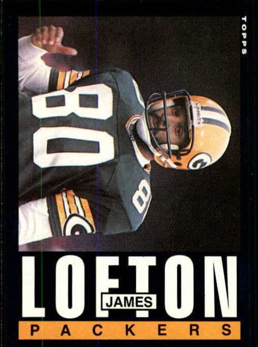1985 Topps #75 James Lofton