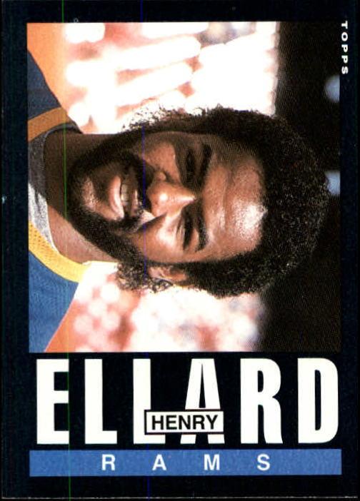 1985 Topps #80 Henry Ellard RC
