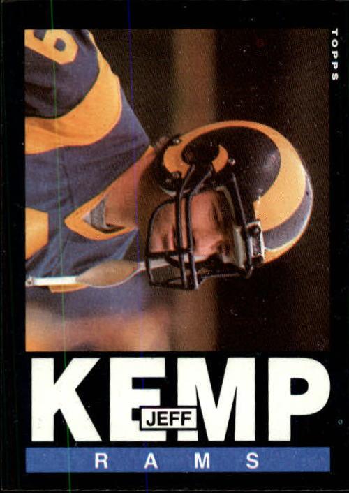 1985 Topps #83 Jeff Kemp RC