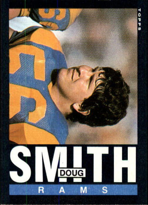 1985 Topps #87 Doug Smith C RC