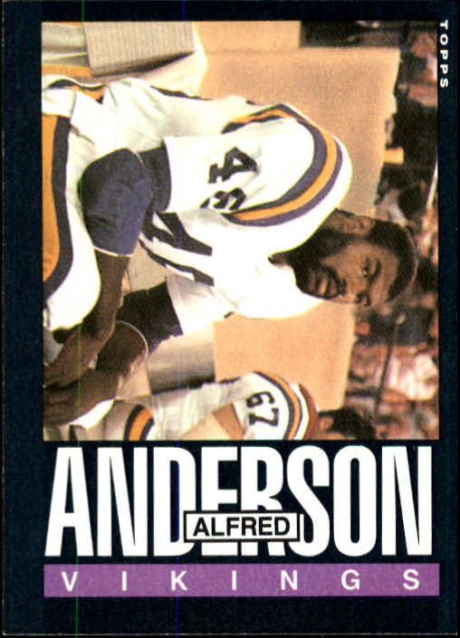 1985 Topps #90 Alfred Anderson RC