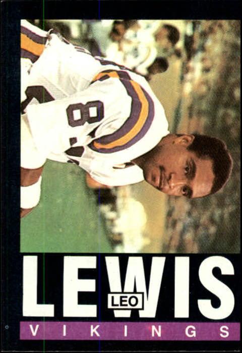 1985 Topps #95 Leo Lewis RC