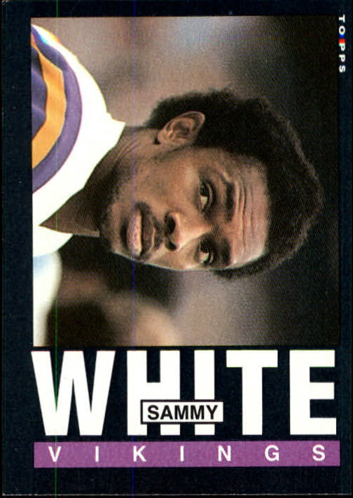 1985 Topps #99 Sammie White