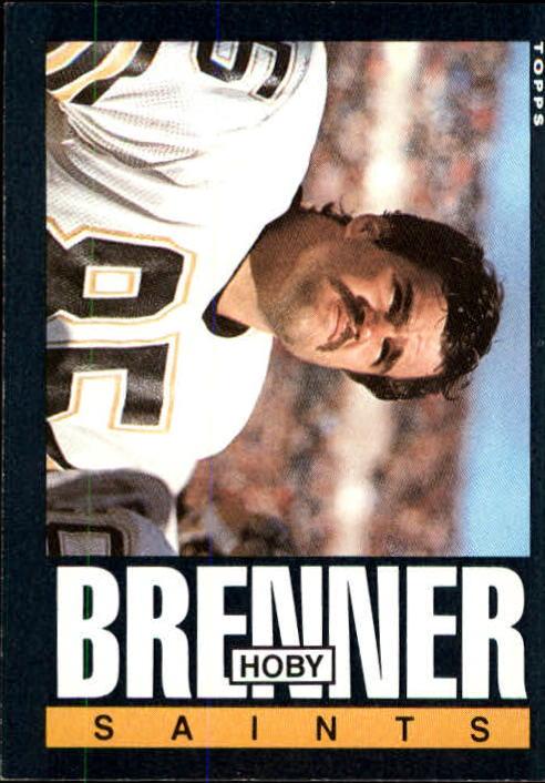 1985 Topps #102 Hoby Brenner RC