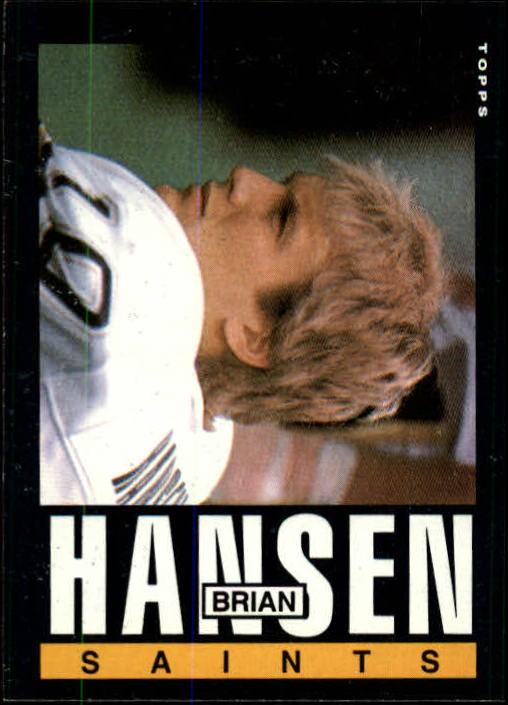1985 Topps #105 Brian Hansen RC