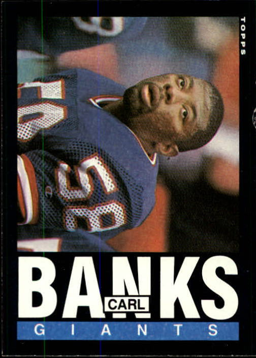 1985 Topps #111 Carl Banks RC