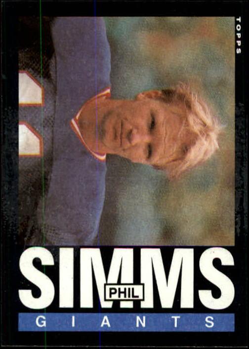 1985 Topps #123 Phil Simms