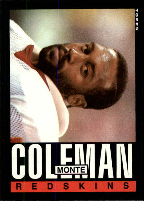 1985 Topps #179 Monte Coleman RC