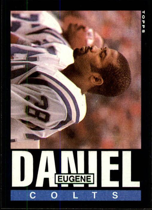 1985 Topps #261 Eugene Daniel RC