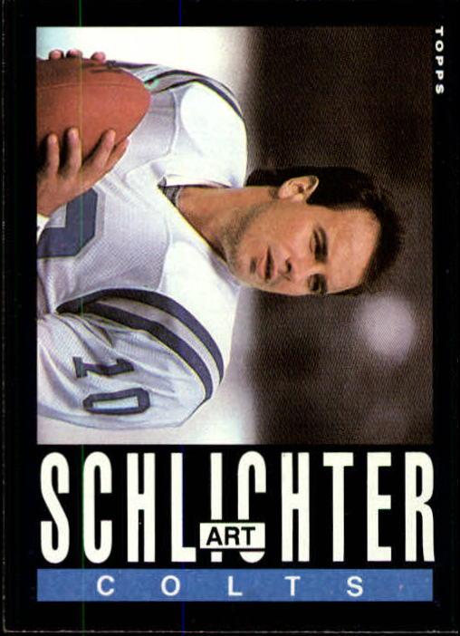 1985 Topps #266 Art Schlichter RC