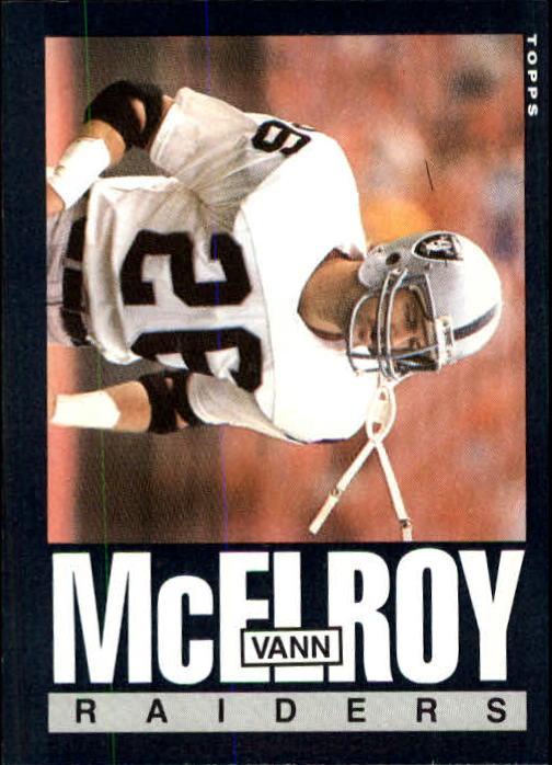 1985 Topps #294 Vann McElroy