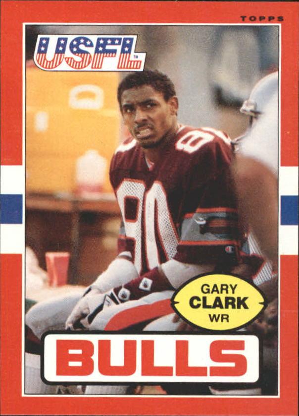 1985 Topps USFL #49 Gary Clark XRC