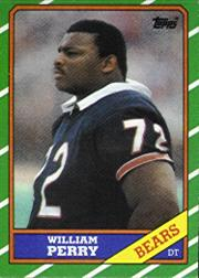 1986 Topps #20 William Perry RC