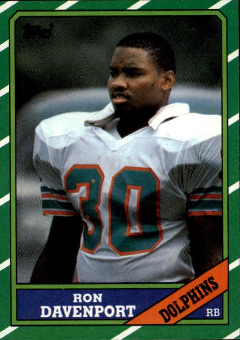 1986 Topps #47 Ron Davenport RC