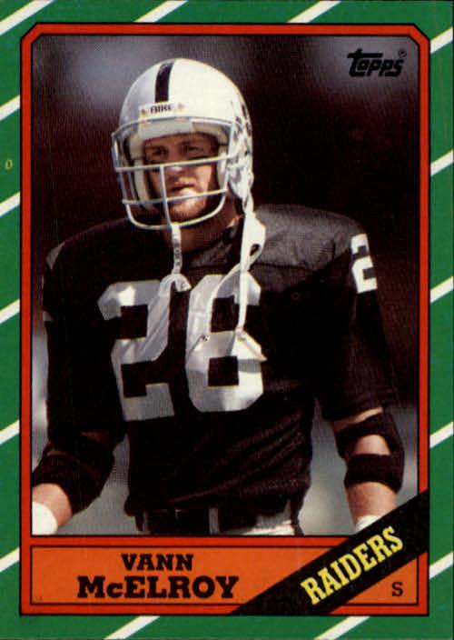 1986 Topps #75 Vann McElroy