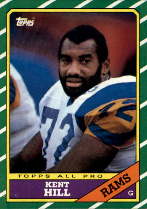 1986 Topps #82 Kent Hill AP