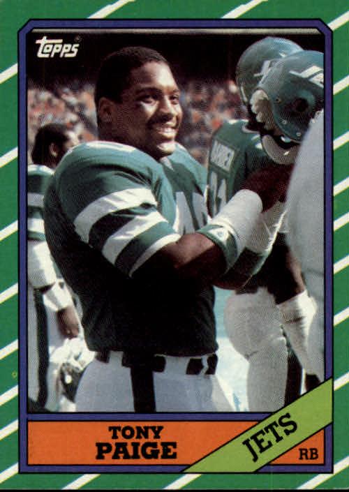 1986 Topps #97 Tony Paige RC